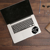 Never give up | Trackpad decal | Macbook Decal | Adnil Creations