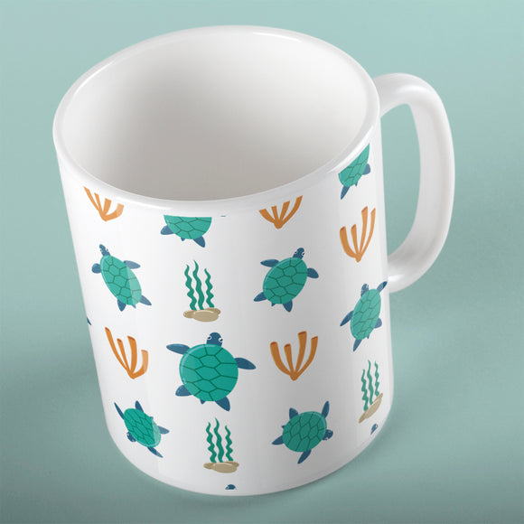 Turtles Pattern | Mug | Mug | Adnil Creations