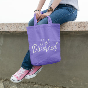 Just divorced | 100% Cotton Tote Bag | Tote Bag | Adnil Creations