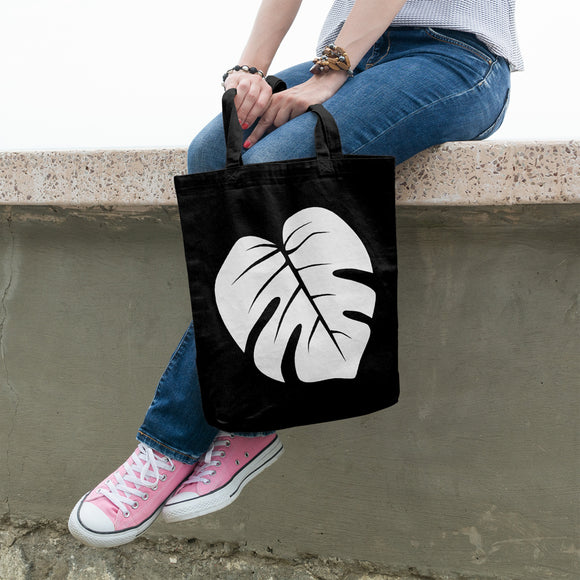 Monstera Leaf | 100% Cotton Tote Bag | Tote Bag | Adnil Creations