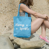 Always Sparkle | 100% Cotton Tote Bag | Tote Bag | Adnil Creations