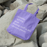 Definition of cleaning | 100% Cotton Tote Bag | Tote Bag | Adnil Creations