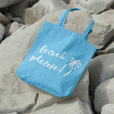 Beach please | 100% Cotton Tote Bag | Tote Bag | Adnil Creations