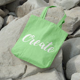 Create | 100% Cotton Tote Bag | Tote Bag | Adnil Creations