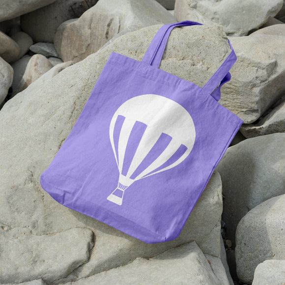 Hot air balloon | 100% Cotton Tote Bag | Tote Bag | Adnil Creations
