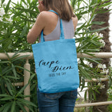 Carpe Diem | 100% Cotton Tote Bag