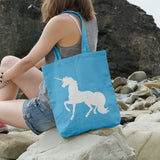 Unicorn Silhouette | 100% Cotton Tote Bag | Tote Bag | Adnil Creations