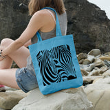 Zebra | 100% Cotton Tote Bag | Tote Bag | Adnil Creations