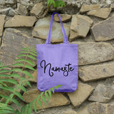 Namaste | 100% Cotton Tote Bag | Tote Bag | Adnil Creations