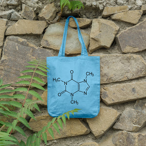 Caffeine Molecule | 100% Cotton Tote Bag | Tote Bag | Adnil Creations