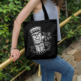 Laughing tiki | 100% Cotton Tote Bag | Tote Bag | Adnil Creations