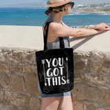 You got this | 100% Cotton Tote Bag | Tote Bag | Adnil Creations
