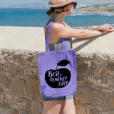 Best teacher ever | 100% Cotton Tote Bag | Tote Bag | Adnil Creations
