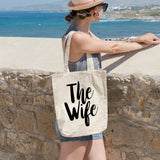 The Wife | 100% Cotton Tote Bag | Tote Bag | Adnil Creations