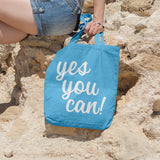 Yes you can | 100% Cotton Tote Bag | Tote Bag | Adnil Creations