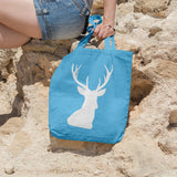 Stag head | 100% Cotton Tote Bag | Tote Bag | Adnil Creations