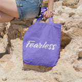 Fearless | 100% Cotton Tote Bag | Tote Bag | Adnil Creations