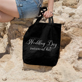 Wedding Day Survival Kit | 100% Cotton Tote Bag - Adnil Creations