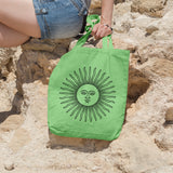 Hippie Sun | 100% Cotton Tote Bag | Tote Bag | Adnil Creations