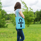 Ankh Egyptian symbol | 100% Cotton Tote Bag | Tote Bag | Adnil Creations
