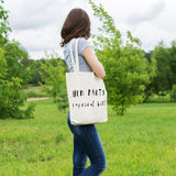 Hen Party Survival Kit | 100% Cotton Tote Bag - Adnil Creations
