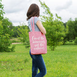 Count the memories not the calories | 100% Cotton Tote Bag | Tote Bag | Adnil Creations