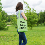 Make today amazing | 100% Cotton Tote Bag | Tote Bag | Adnil Creations