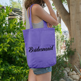 Bridesmaid | 100% Cotton Tote Bag