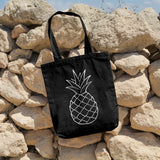 Pineapple | 100% Cotton Tote Bag