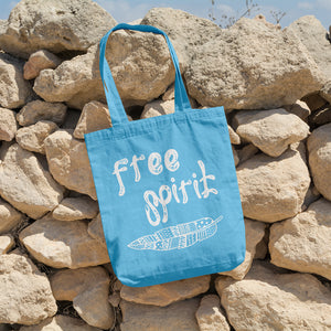 Free Spirit | 100% Cotton Tote Bag | Tote Bag | Adnil Creations