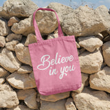 Believe in you | 100% Cotton Tote Bag | Tote Bag | Adnil Creations