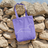 Leo Constellation | 100% Cotton Tote Bag | Tote Bag | Adnil Creations
