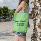 If you stumble make it part of the dance | 100% Cotton Tote Bag | Tote Bag | Adnil Creations