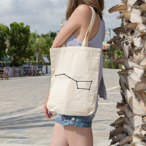 Big Dipper Constellation | 100% Cotton Tote Bag | Tote Bag | Adnil Creations