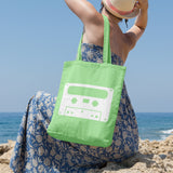 Cassette | 100% Cotton Tote Bag | Tote Bag | Adnil Creations