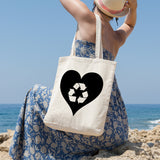 Love recycling | 100% Cotton Tote Bag | Tote Bag | Adnil Creations