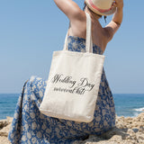 Wedding Day Survival Kit | 100% Cotton Tote Bag | Tote Bag | Adnil Creations