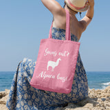 Alpaca bag | 100% Cotton Tote Bag | Tote Bag | Adnil Creations