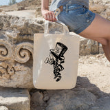 Mad hatter | 100% Cotton Tote Bag | Tote Bag | Adnil Creations