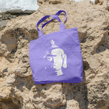 Buddha head | 100% Cotton Tote Bag - Adnil Creations