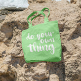 Do your own thing | 100% Cotton Tote Bag | Tote Bag | Adnil Creations