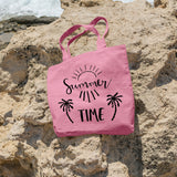 Summer time | 100% Cotton Tote Bag | Tote Bag | Adnil Creations