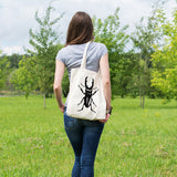 Stag beetle | 100% Cotton Tote Bag | Tote Bag | Adnil Creations