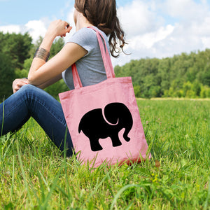 Elephant | 100% Cotton Tote Bag - Adnil Creations
