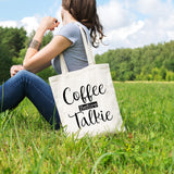 Coffee before Talkie | 100% Cotton Tote Bag | Tote Bag | Adnil Creations