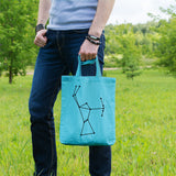 Orion constellation | 100% Cotton Tote Bag | Tote Bag | Adnil Creations
