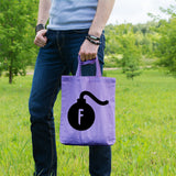 F Bomb | 100% Cotton Tote Bag | Tote Bag | Adnil Creations