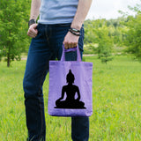 Sitting Buddha | 100% Cotton Tote Bag | Tote Bag | Adnil Creations