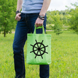Ships wheel | 100% Cotton Tote Bag | Tote Bag | Adnil Creations