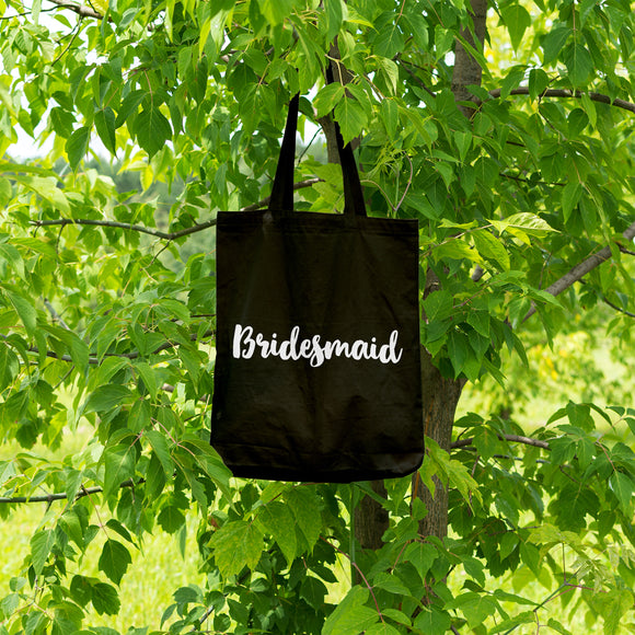 Bridesmaid | 100% Cotton Tote Bag | Tote Bag | Adnil Creations